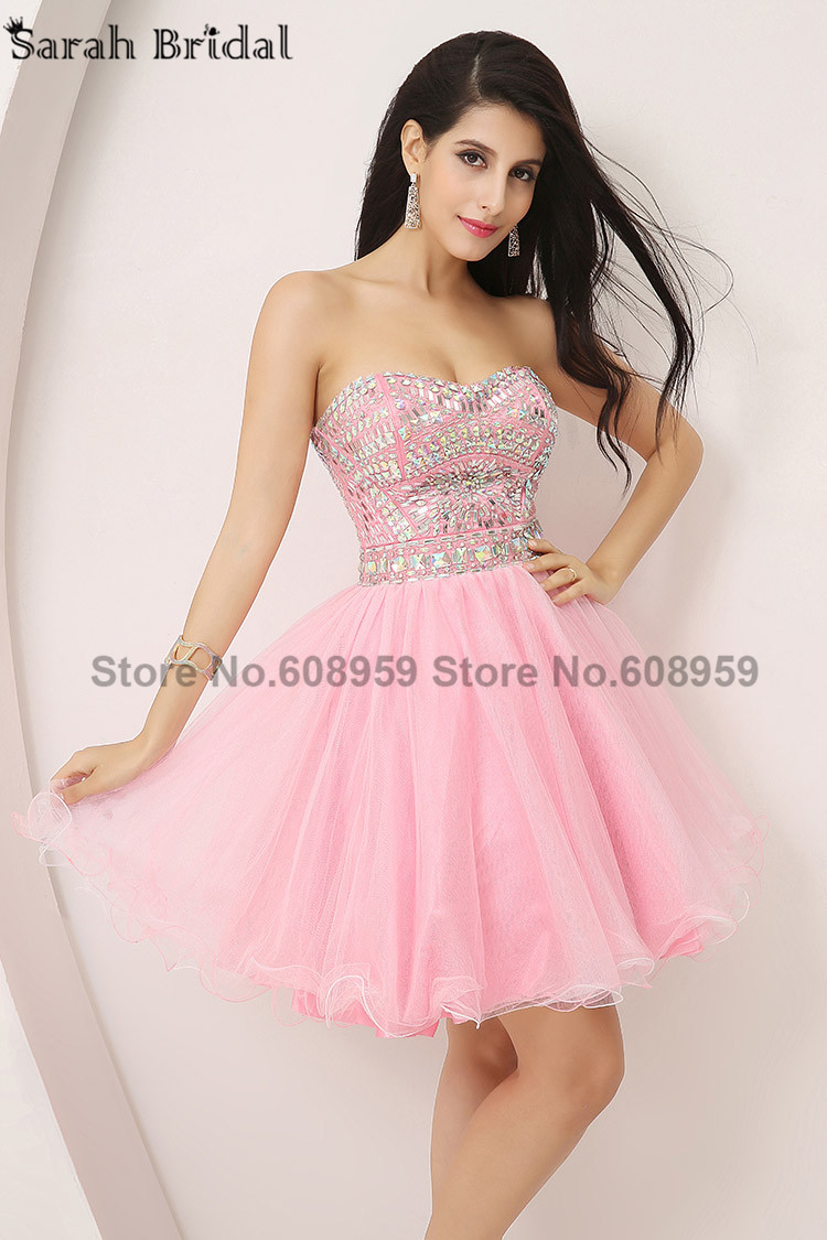Short Pink Prom Dresses | All Dress