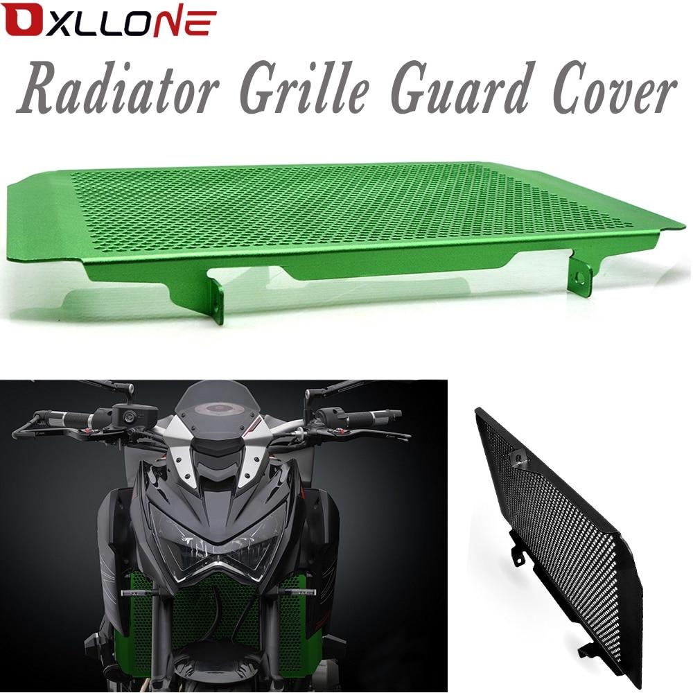 Motorcycle radiator grille guard protection for kawasaki abs 2013 2017 Z100SX 2010 2018 ninja 1000 2010