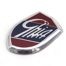 Car Sticker Emblems GHIA Side Shield Logo Marked Stickers For Ford Focus Mondeo Fiesta Ecosport Kuga Edge Explorer expedition