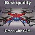 Drone DFD F181 Quadcopter RC Drone с Дополнительным Камеры HD 5.0MP Cam Дистанционного Управления Игрушка Один Ключ Авто Вернуться ПРОТИВ JJRC H12C FSWB