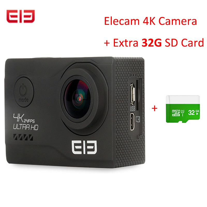 Elephone Explorer Elite 4K WiFi Action Sport Camera 170 Degrees FOV 2 0 inch LCD Display