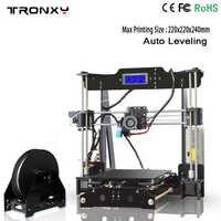 2020 Best Tronxy P802M 3D Printer DIY full kits Direct Extruder MK3 heatbed 3D Printing 3DCSTAR P802-MHS