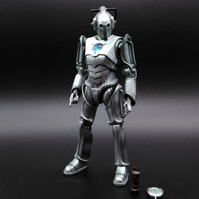 Doctor Who Cybermen Cyberman Computer robot movie 2014 Anime Game Figurine PVC Action Figure Model Toy 15cm opp bag