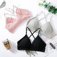 Women Bra Thin Seamless Wire Free Bralette Backless Bras For Sexy Underwear