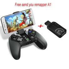 GameSir G4s Bluetooth Gamepad para Android TV BOX Tablet Smartphone de 2.4 Ghz Wireless Controller para PC Juegos VR (CN, EE. UU., ES Post)