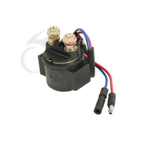 Motorcycle Starter Solenoid Relay Ignition For Honda CB200 350 360 400 450 500 550 750 New