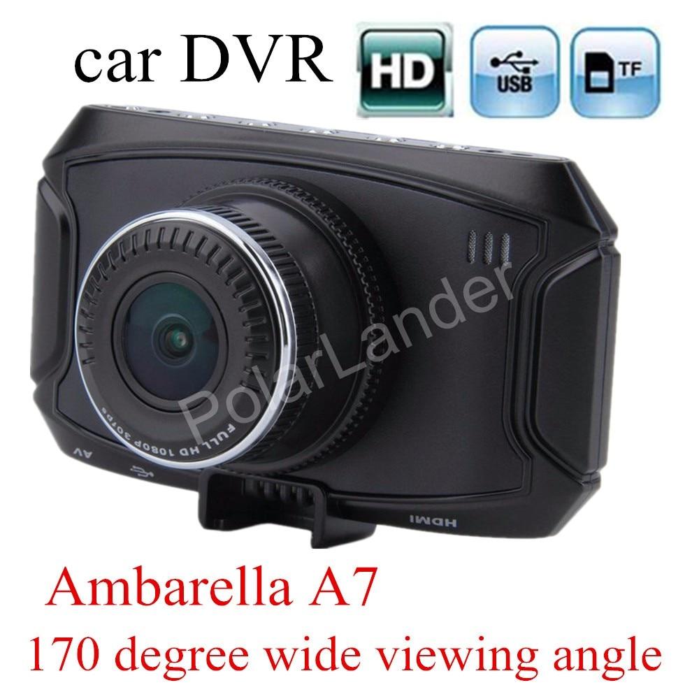 new arrival G90 Car camera Ambarella 170 degree wide viewing angle A7 HD Car DVR Recorder Dash Cam G-Sensor night vision new arrival 2 7 inch ambarella a7 car camera dvr recorder g90 hd 170 degree wide viewing angle g sensor night vision