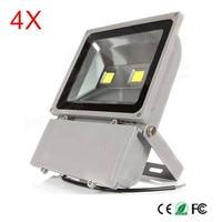 4x 방수 ip66 100 w 높은 전원 led 투광 조명 야외 led 경로 빛 에너지 절약 경로 램프 따뜻한/자연/차가운 흰색