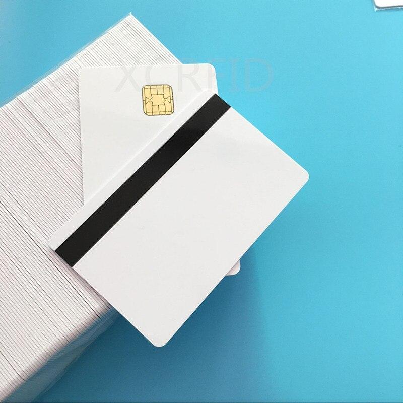 Купить с кэшбэком J2A040 40k EEPROM w / 2 Track Hi CO Magstripe Compatible JCOP21 36K Java JCOP Based Smart Card with SDK Kit  5 Pcs / Pack