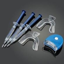 Ogreen 44% CP Профессиональный Комплект Отбеливания Зубов Системы Отбеливания Яркие Белые Улыбки Отбеливание Зубов Гель Комплект Со СВЕТОДИОДНОЙ Подсветкой