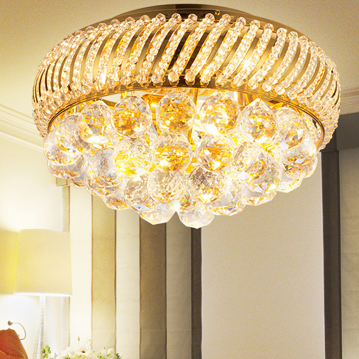 Buy circle crystal lamp and get