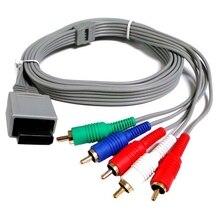 1080 P/720 p HDTV AV محول الصوت سلك كابل 5RCA مكون ألعاب استبدال خط لملحقات وحدة التحكم وي