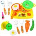 XFC Children Kids Play House Toy Kitchen Cooking Food Utensils Pans Pots Dishes Cookware Supplies