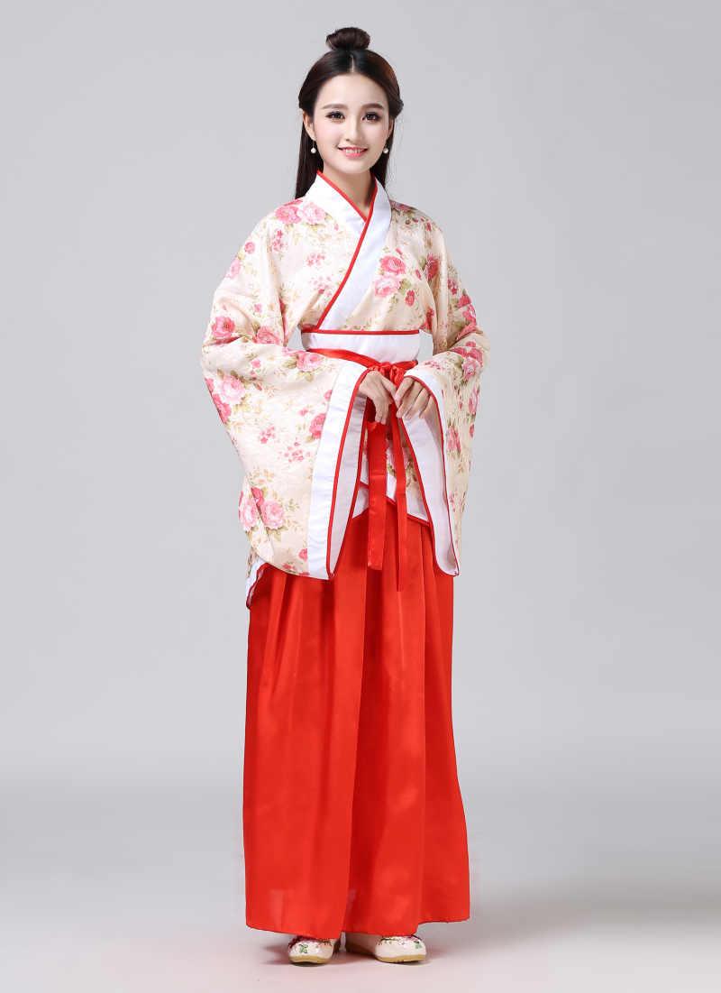 Klasycznego hanfu kostium kobiety tang męski tradycyjny chiński starożytny kostium kobieta kostiumy do tańca dla kobiet chiński folk do tańca