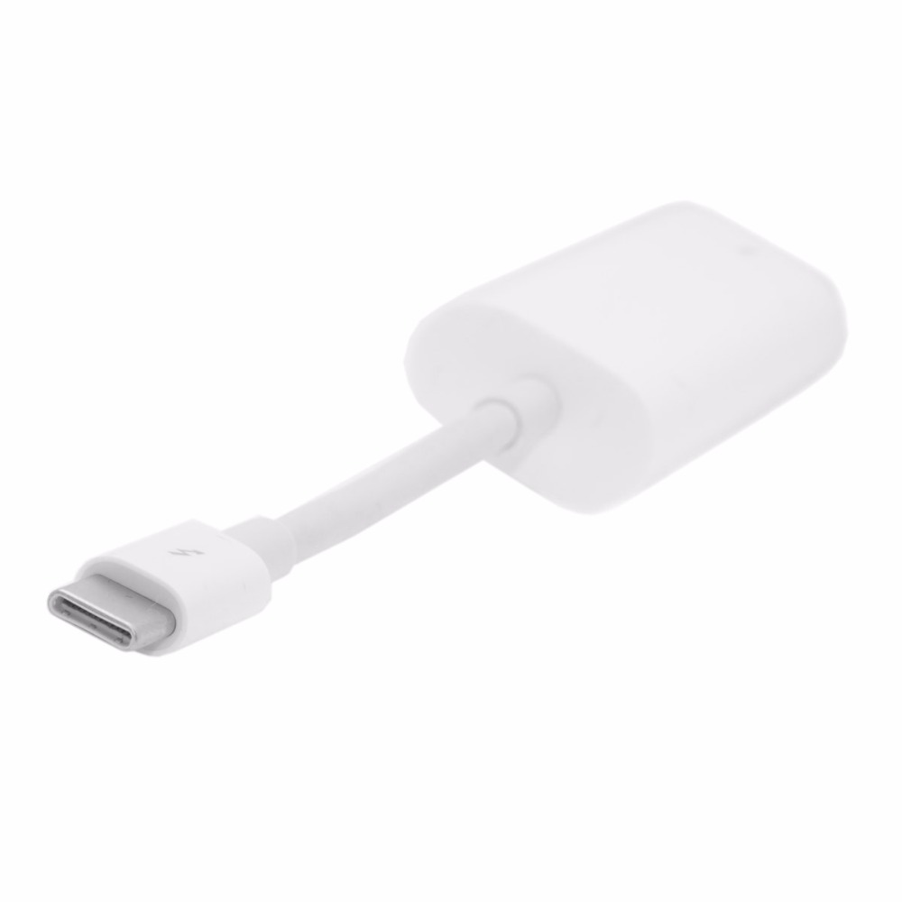 40Gbps USB-C Thunderbolt 3 Port to Thunderbolt 2 Adapter for 2016 Macbook Pro Display MC914 & Hard Disk