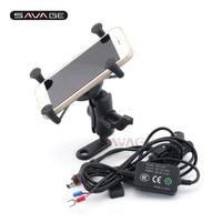 GPS Navigation Mount Bracket For BMW F 650GS/700GS/800GS/800GT/800R K 1200R/1200S/1300R/1300S Mobile Phone Holder USB Charger