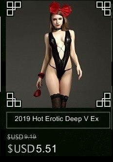 Сексуальное эротическое женское нижнее белье, большие размеры, прозрачное кружевное нижнее белье, Соблазнительные костюмы с тремя точками,... 32