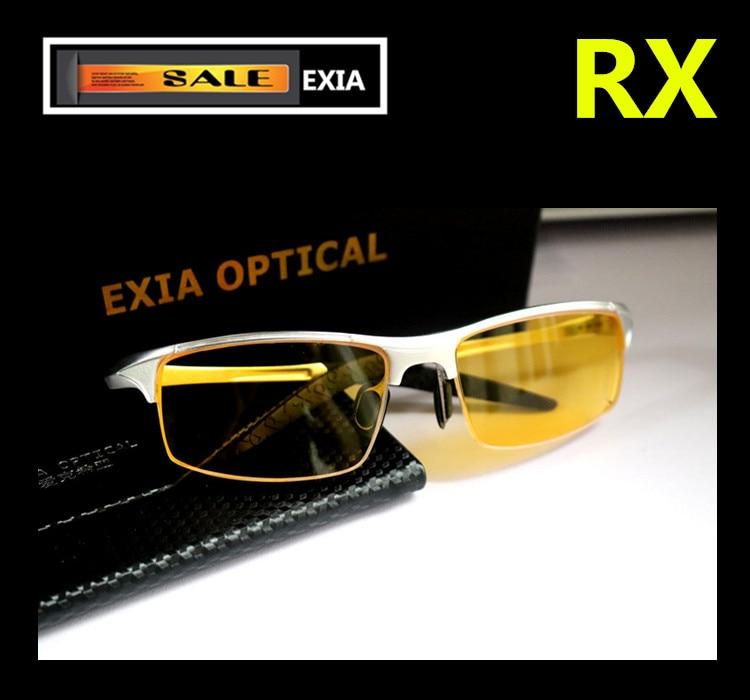 Night Vision Sunglasses Drivers Eyeglasses Prescription RX EXIA OPTICAL KD-320 Series