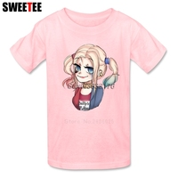 Suicide Squad Boy Girl T Shirt Baby Infant Cotton Crew Neck Kid Tees Tshirt Children Tops