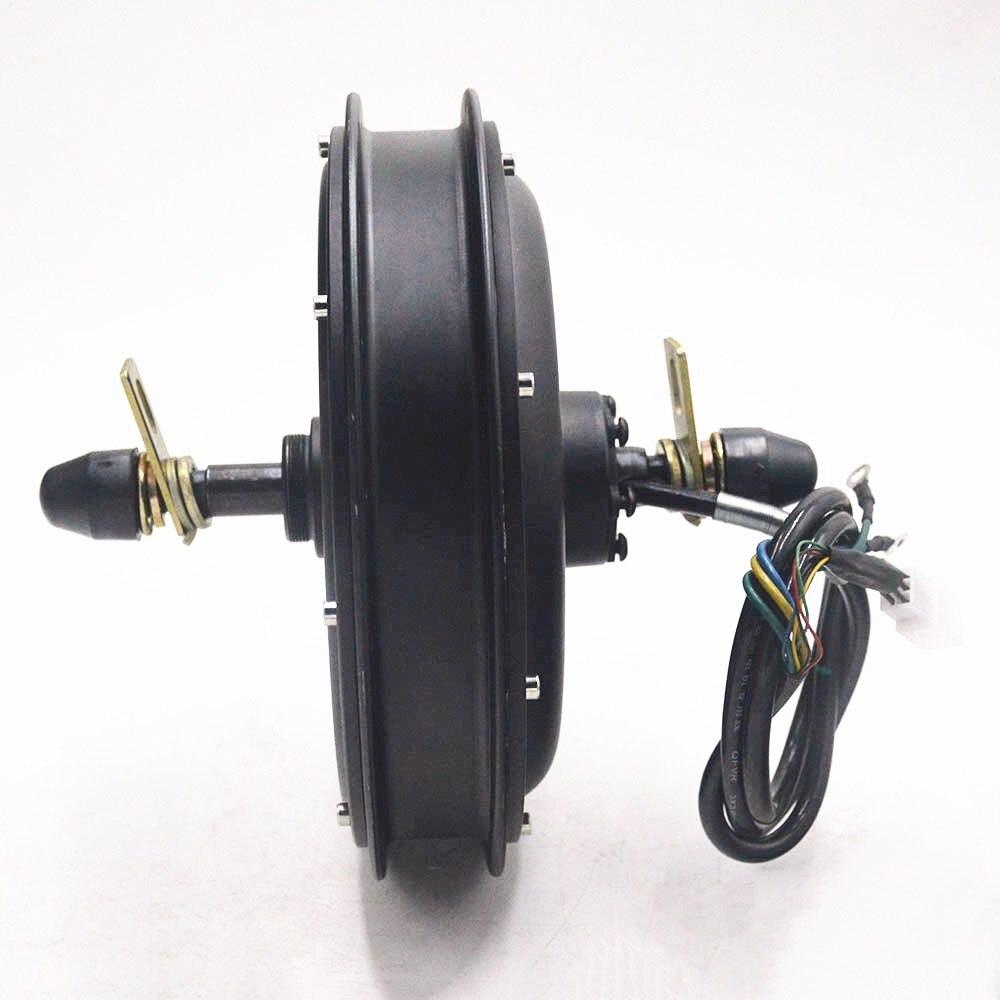 48 V 1500 W moteur de moyeu moteur de vélo électrique roue libre vélo électrique sans brosse moteur arrière sans engrenage utilisation pour vélo électrique