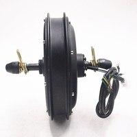 48V 1500W Hub motor Electric bike Motor Rear Wheel Freewheel Electric Bicycle Brushless Non gear Rear Motor use for e bike