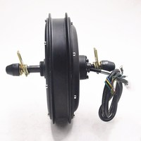 48V 1500W Hub motor Electric bike Motor Rear Wheel Freewheel Electric Bicycle Brushless Non gear Rear Motor use for e bike