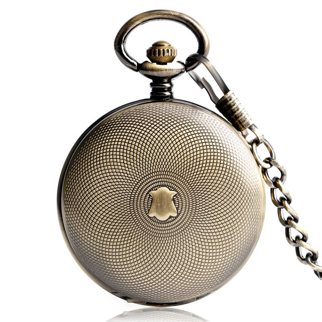 Fob pocket watches mechanical hand