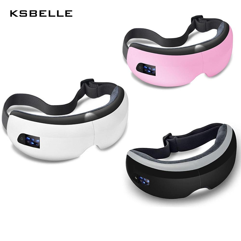 Sans fil Eye Massager Air Compression Massage Des Yeux avec Musique Intelligent Eye Massage Chauffée Lunettes Anti Rides Soins Oculaires - 5