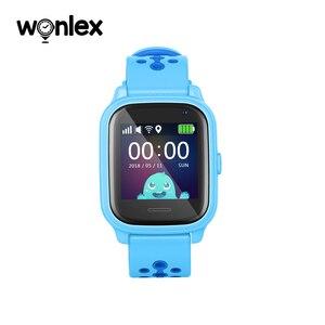 Image 2 - Wonlex reloj inteligente KT04 de 1,3 pulgadas, resistente al agua, IPS, IP67, natación, antipérdida, con AGPS/LBS/WiFi, posicionamiento GPS, SOS