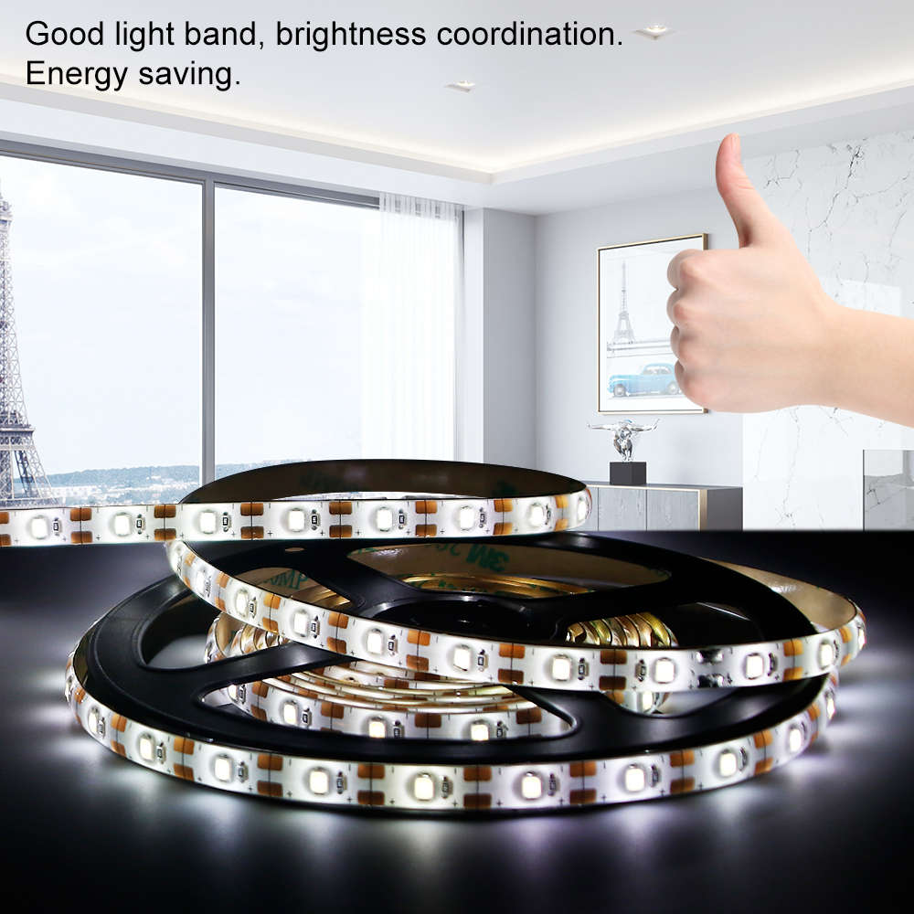 PIR Motion Sensor Led Light 5V Waterproof Led Strip Lamp DIY 1M 2M 3M Flexible Tube TV Backlight Closet Cabinet Kitchen Lighting