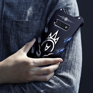 Image 3 - Métal S10 cas Zimon Robuste étui pour samsung S10 plus fundas téléphone étui pour samsung Galaxy S10E Puissant Antichoc De Luxe