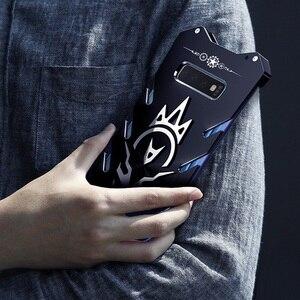 Image 3 - Metalen S10 case Zimon Heavy Duty case voor Samsung S10 plus fundas telefoon case voor Samsung Galaxy S10E Krachtige Shockproof luxe
