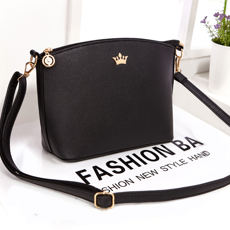 Bomlight Women Crossbody Shoulder Bags Casual Small Imperial Crown Candy Color Handbags New Fashion Clutches Las Party Purse In Top Handle From