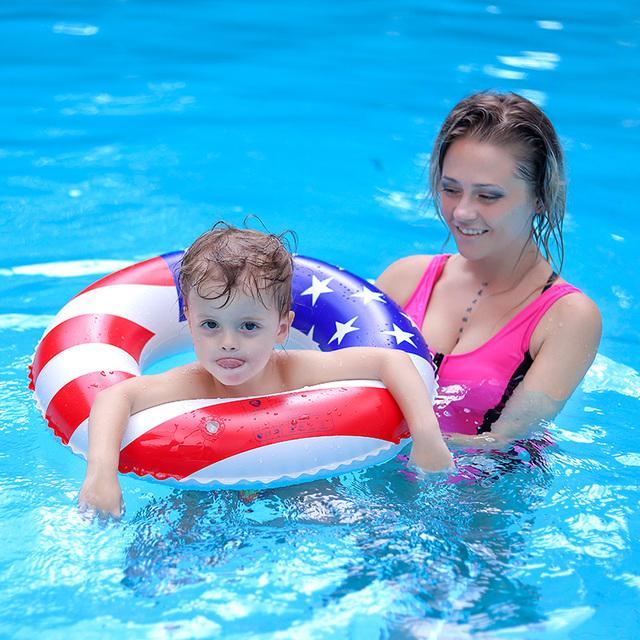 Baby Swimming Ring Inflatable Kids Floating Children Swim Trainer Pool Beach Accessories Circle Bathing Raft