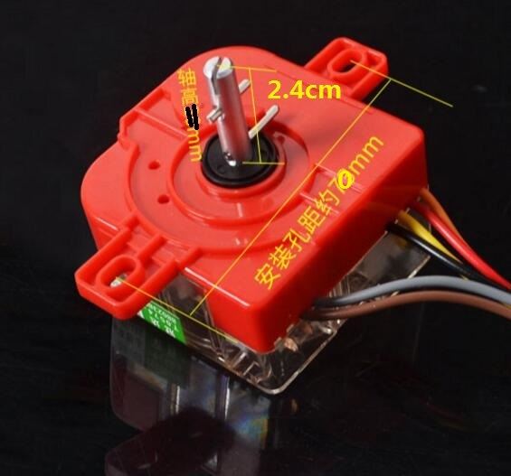 220 В 3.5A стиральная машина Запчасти 15 минут таймер DXT15SF-G 6 проводов с двойной плоский уши