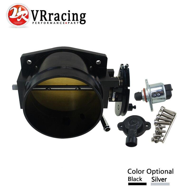 VR RACING - 102mm throttle body + TPS IAC Throttle Position Sensor for LSX LS LS1 LS2 LS7  цены