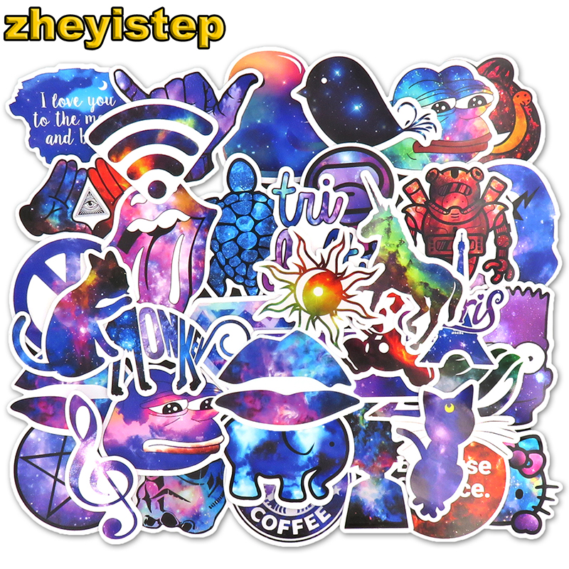 50-pcs-galaxy-stickers-anime-sticker-for-laptop-guitar-skateboard-luggage-motorcycle-kids-brand-pvc-waterproof-graffiti-stickers