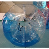 Пузырь футбол надувной пузырь футбол Бурлящий шарик для футбола Bump мяч