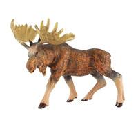 Moose Toys Action Figures Model Wild Animals PVC Plastic Boys Collections Toy Figure Children Education Gift
