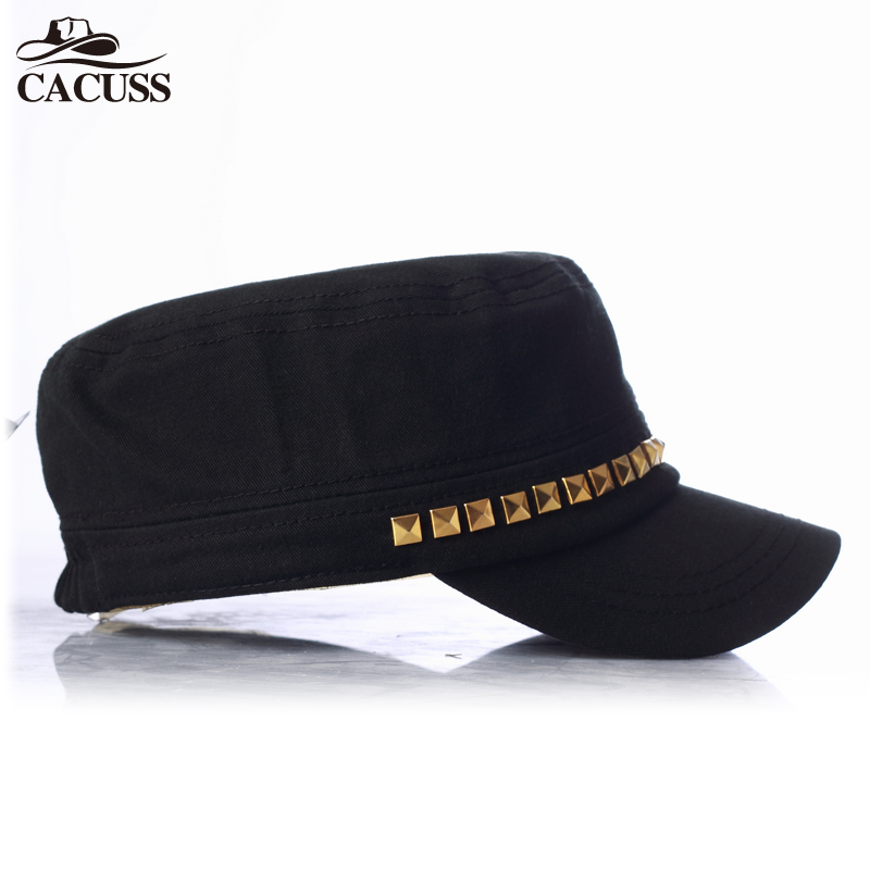 Cacuss Brand army hats high quality men women sexy army caps customized  logo simple design flat caps best gifts for friends caps-in Baseball Caps  from ... a53755ac6093