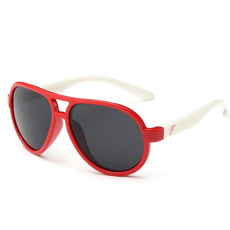 1560baf88 2018 Novos TAC Polarized Sunglasses Crianças TR90 Óculos UV400 Óculos de  Sol para o Menino Meninas Do Bebê Bonito Legal óculos de Sol Piloto