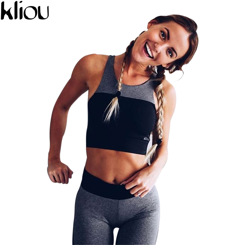 Kliou 2 Piece Set Fitness Clothes 2