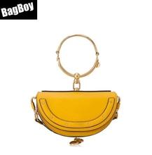 2019 Mini Half Moon Messenger Bags,Luxury Handbags Women Bags Designer Leisure Shoulder Bags,Fashion Crossbody Bag For Women