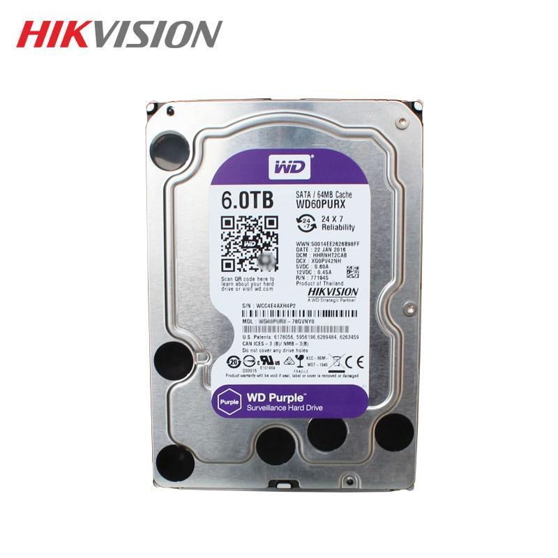 Hikvision Western Digital Cctv Security System 3 5 Inch