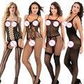 Женское сексуальное нижнее белье, открытая промежность, большие размеры, Babydoll, прозрачное женское эротическое белье, сексуальное горячее э...