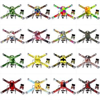 Versión 4K/1080P RC Drone piezas de repuesto de cuadricóptero a prueba de arañazos pegatina película protectora pegatina