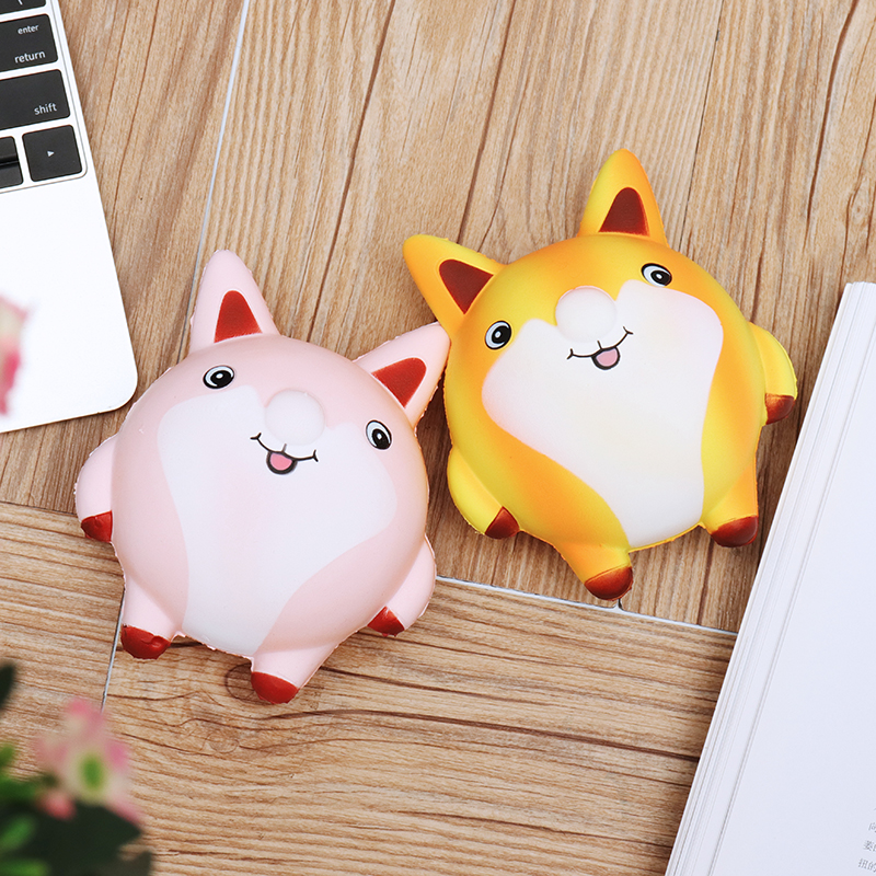 Fat Fox Fatty 13cm Soft Slow Rising Collection Gift Decoration Lovey Relief Stress Children Toy With Packing