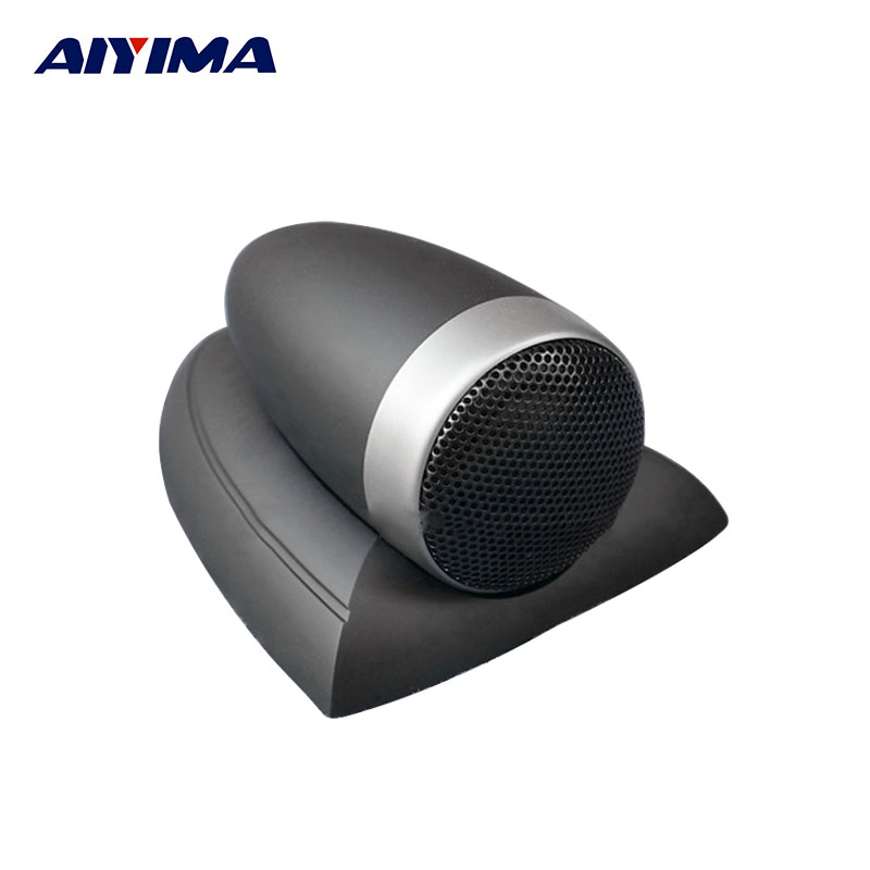 AIYIMA 1Pc Audio Portable Speaker 4Ohm 25W Tweeters Loudspeaker Car Fever Original Flavor Tones Speakers DIY For Car System