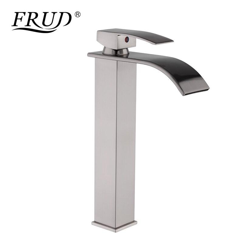 FRUD laiton Torneira robinet de lavabo cascade salle de bain robinet d'eau robinet de lavabo mitigeur mitigeur évier Y10140