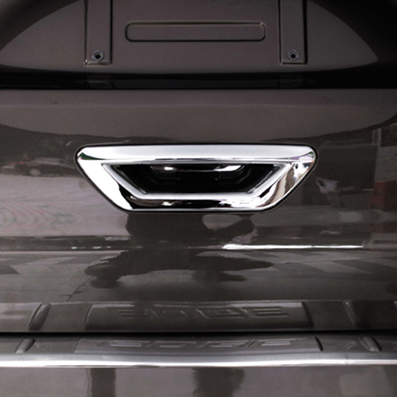 Chrome Accessories For Ford Edge Endura  Tail Rear Door Handle Trim Decal Sticker Car Styling In Chromium Styling From Automobiles